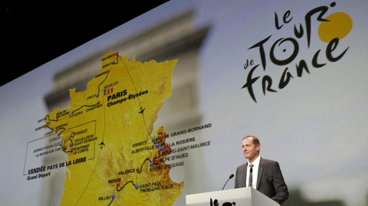 Christian Prudhomme, director del Tour de Francia.