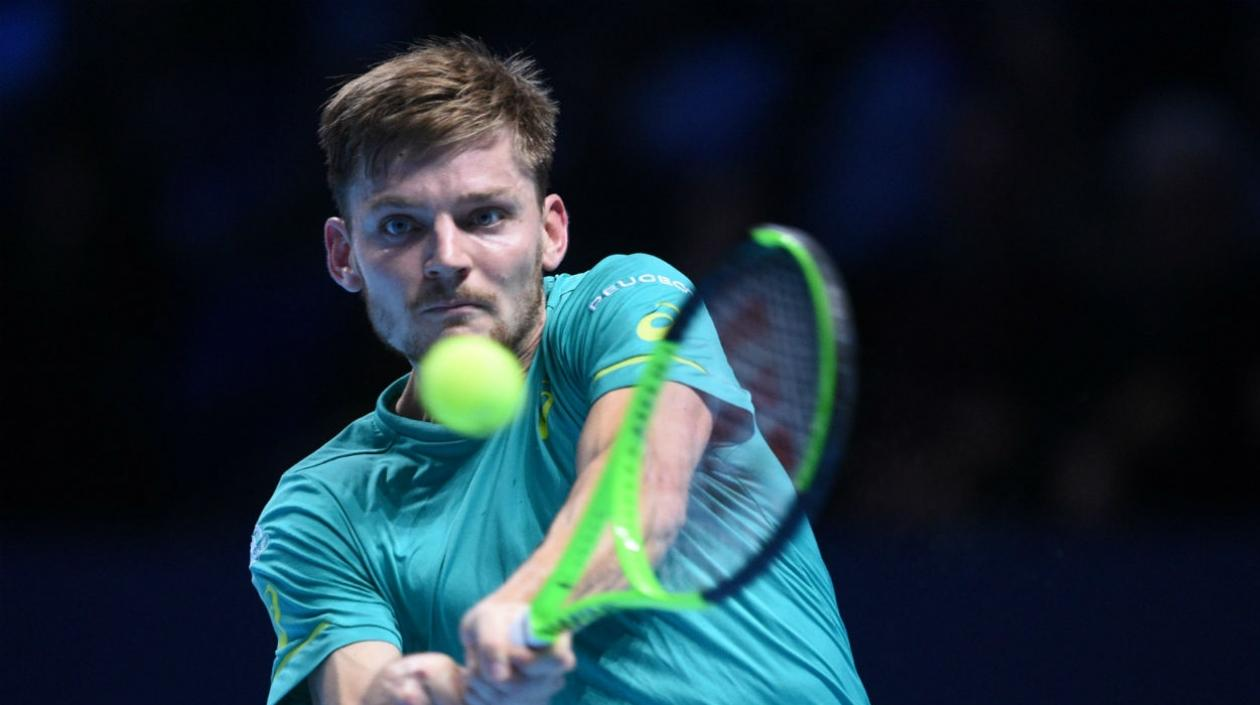 David Goffin, tenista belga.