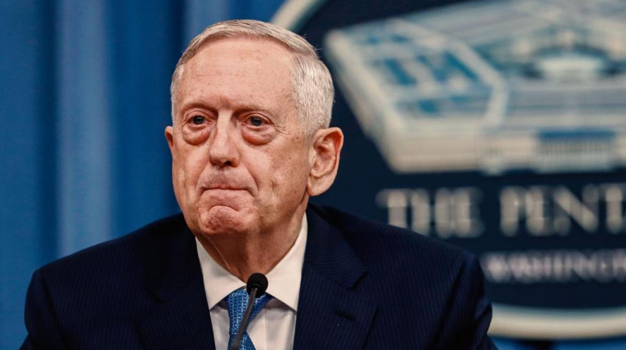 El secretario de Defensa de Estados Unidos, James Mattis.