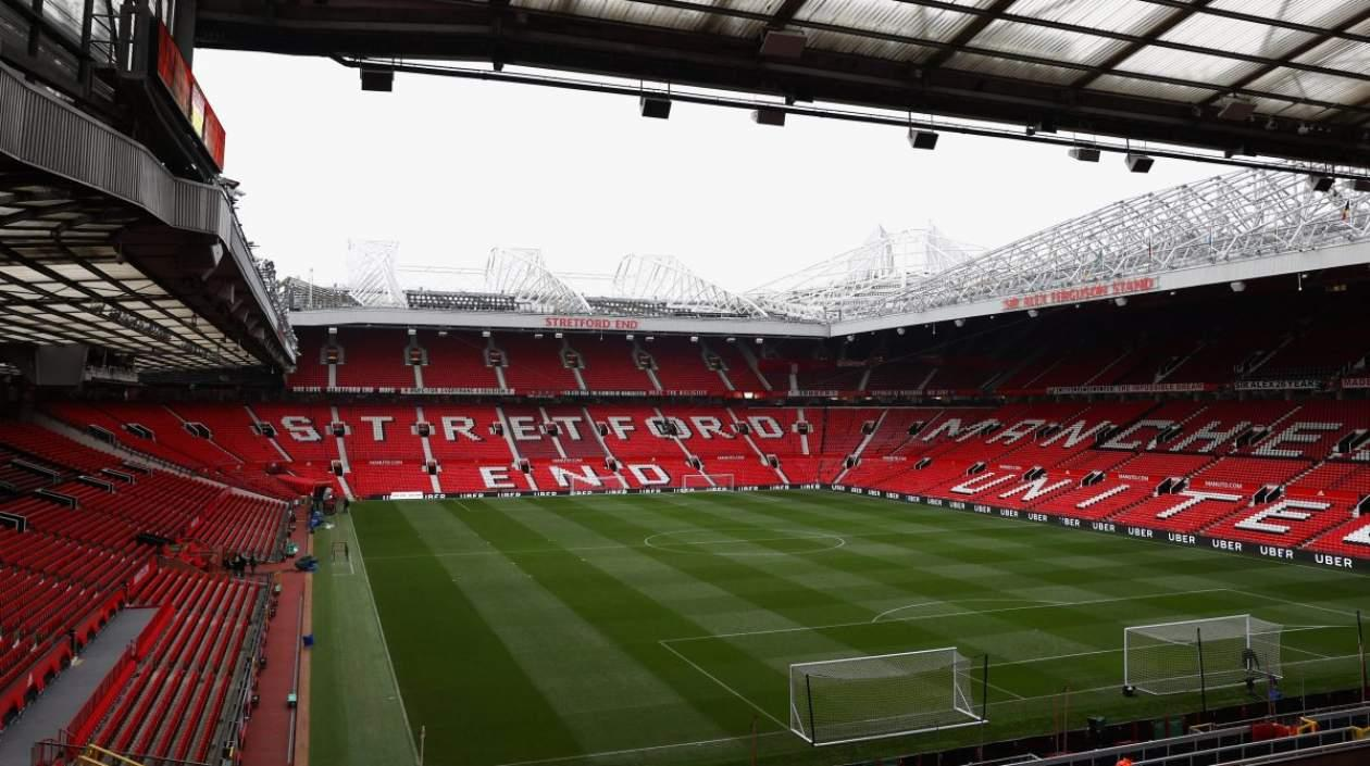 Estadio Old Trafford, del Manchester United.