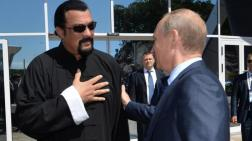 El actor Steven Seagal y el Presidente Putin.