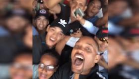 El actor Will Smith en un video que compartió en sus redes.