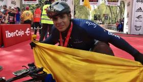Francisco Sanclemente, atleta colombiano.