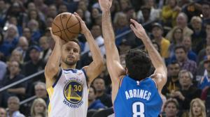 Stephen Curry, jugador de los Warriors de Golden State.