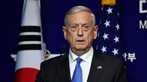 James Mattis, secretario del Departamento de Defensa de EE.UU.