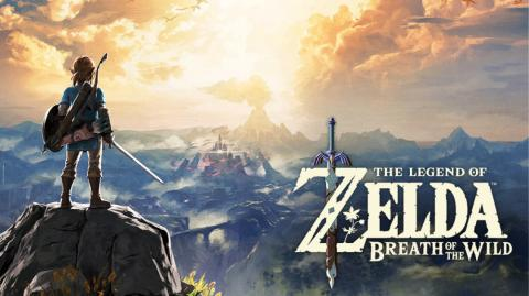 Portada de The Legend of Zelda: Breath of the Wild.