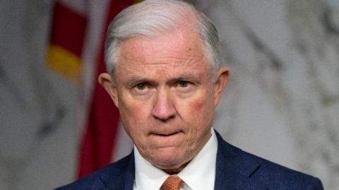 El Fiscal General de Estados Unidos, Jeff Sessions.