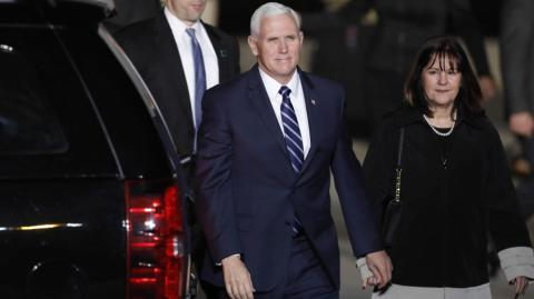 El vicepresidente de Estados Unidos, Mike Pence