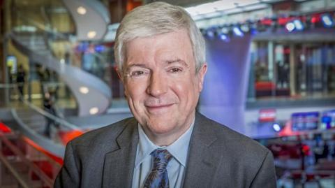 El director general de la BBC, Tony Hall.