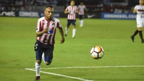 Jarlan Barrera, volante de Junior.