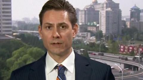 Michael Kovrig, exdiplomático canadiense detenido en China.