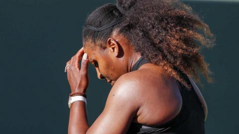 Serena Williams, tenista norteamericana.