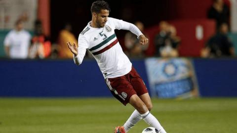 Diego Reyes, defensa mexicano.
