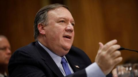 El secretario de Estado, Mike Pompeo.