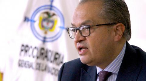 Fernando Carrillo Flórez, procurador general.