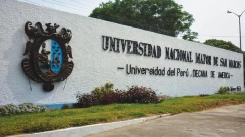 Universidad Nacional Mayor de San Marcos.
