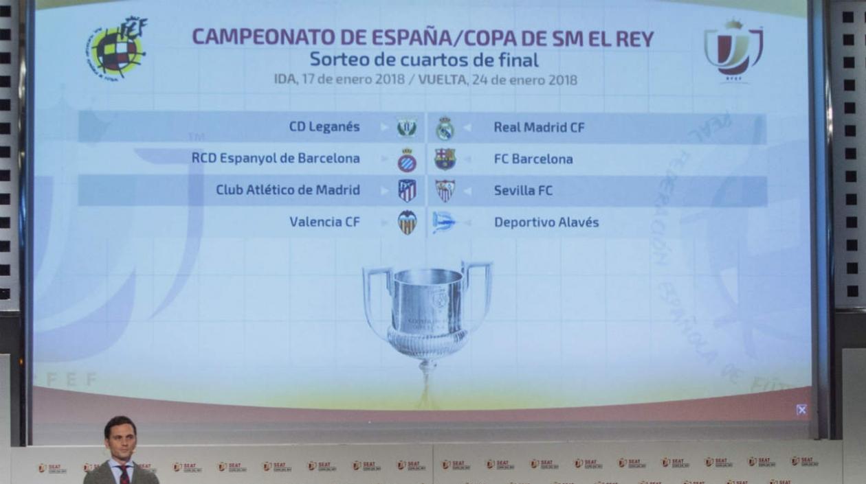 Leganés-Real Madrid y Espanyol-Barcelona: los cuartos de ...