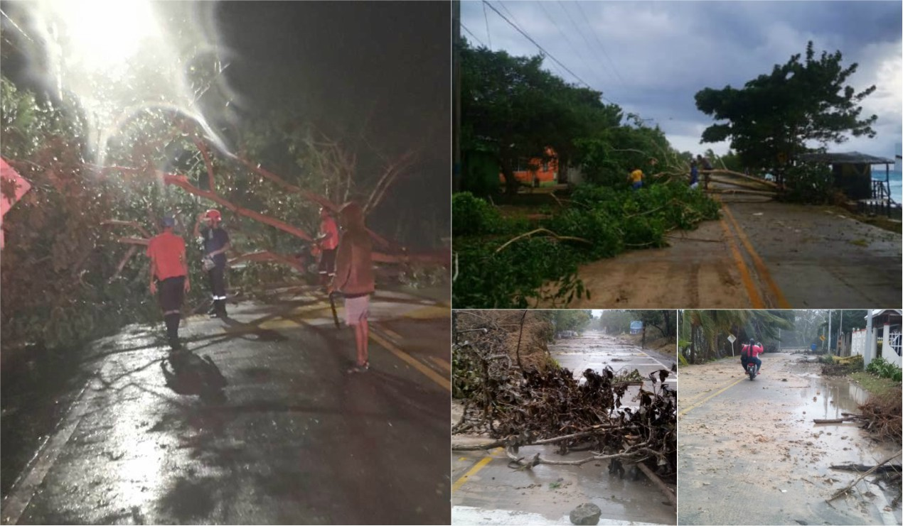 Eta pasa con fuerza por la isla de San Andrés – El Artículo