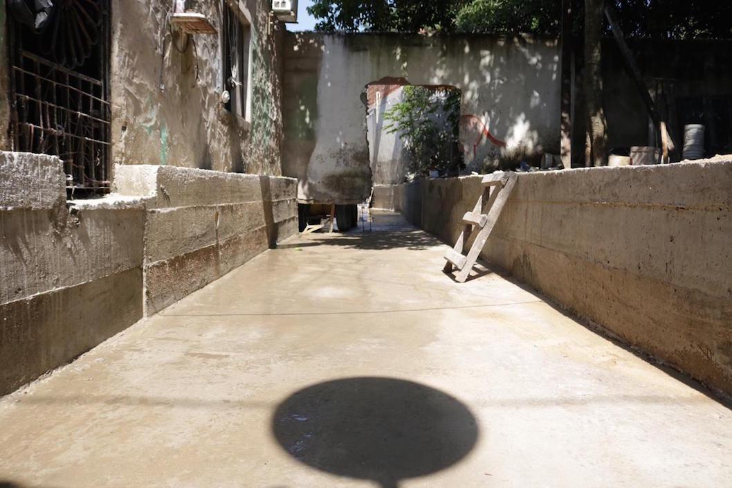 Canalización de arroyo Villa Siri, del barrio La Esperanza.