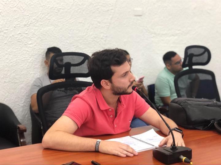 Samir Radi Chemás, Concejal de Barranquilla.