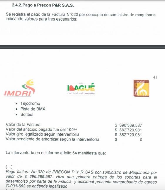 Apartes del proceso auditor de los Juegos Nacionales 2015.