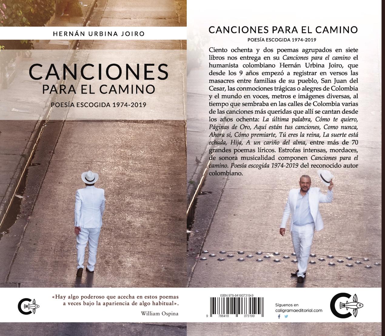 Canciones para el camino del poeta Hernán Urbina Joiro