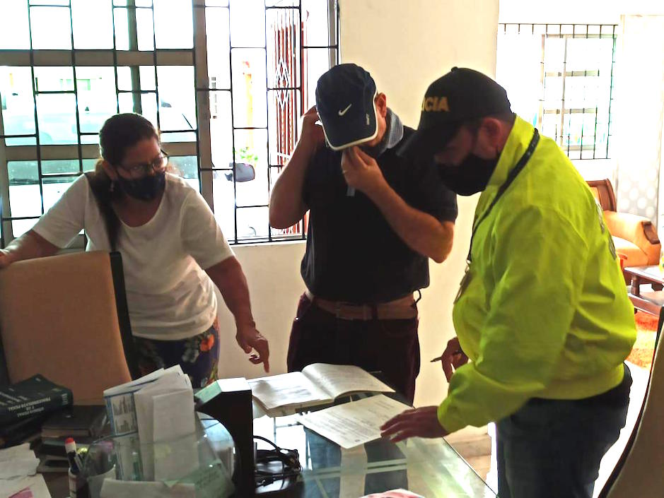 Alberto Oyaga Machado, Juez capturado e imputado en el caso Unimetro.