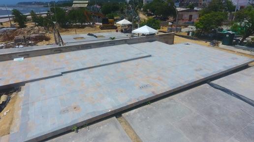 La plaza estará dotada de diferentes espacios públicos.