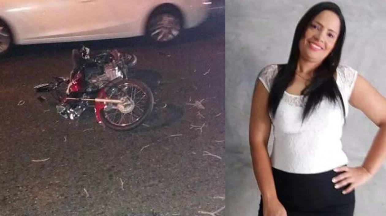 Johana Isabel Zambrano De la Cruz, de 34 años, falleció en un accidente.