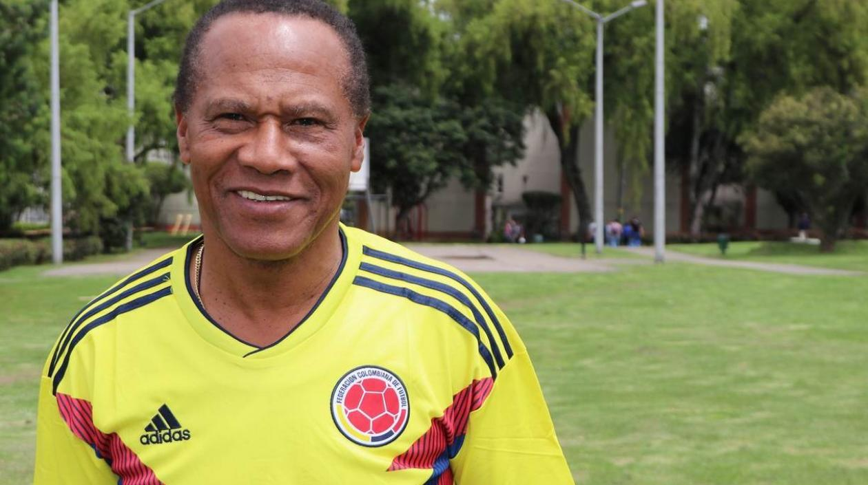 Willington Ortiz, exfutbolista colombiano.