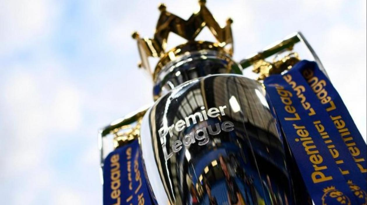 Trofeo de la Premier League.