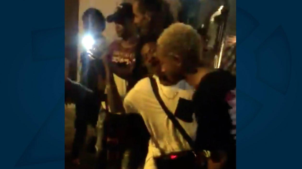 Jaden Smith rapeando en Cartagena.