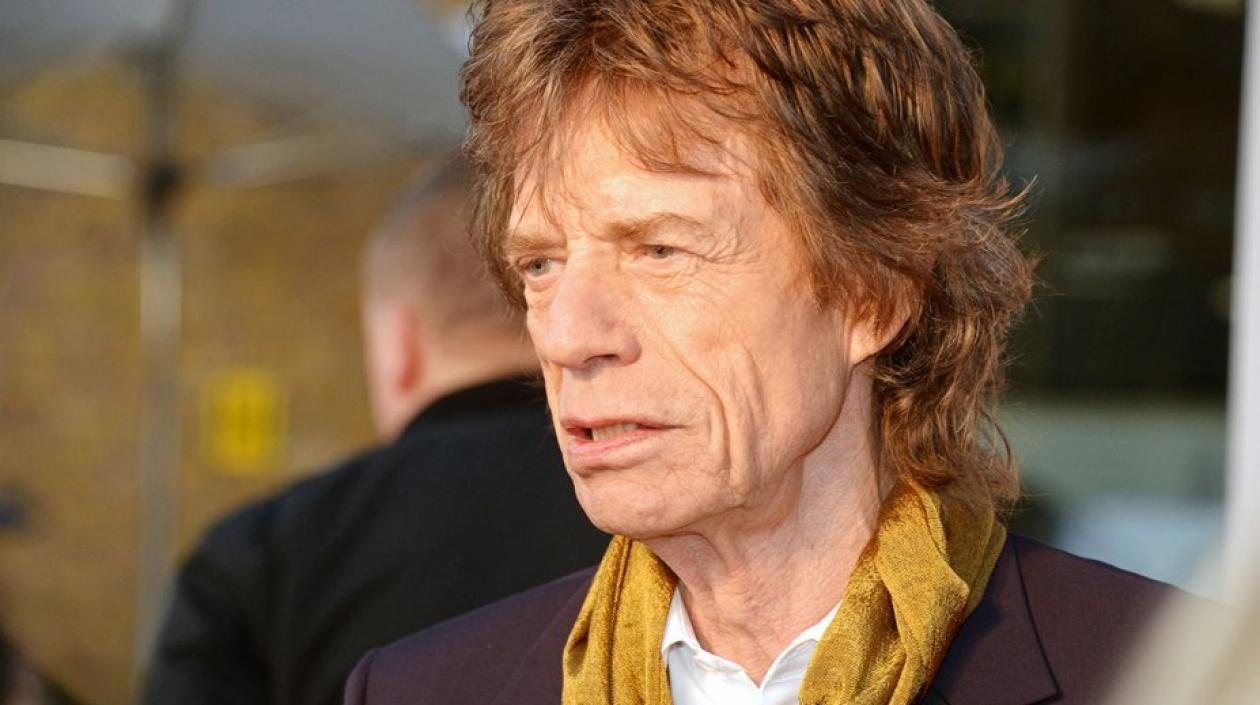 Mick Jagger, cantante de The Rollings Stones.