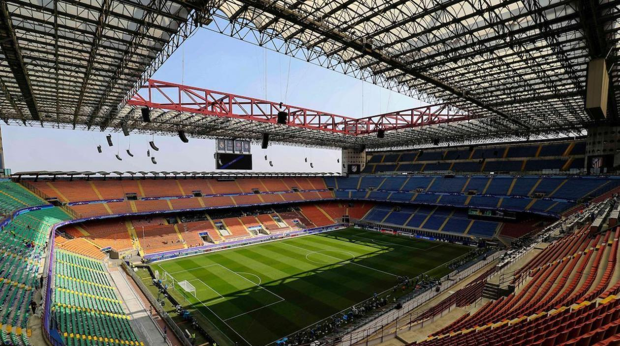 Estadio San Siro.
