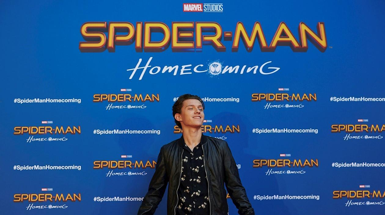 Tom Holland, protagonista de Spider-Man.