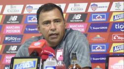 Harold Rivera, DT de Independiente Santa Fe.