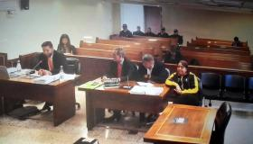 Audiencia contra Carlos y Esther Jiménez.