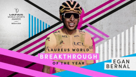 El colombiano Egan Bernal.
