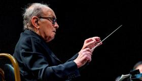 El compositor y director de orquesta italiano Ennio Morricone, fallecido.