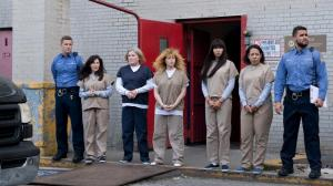 Escena de 'Orange is the new black'.