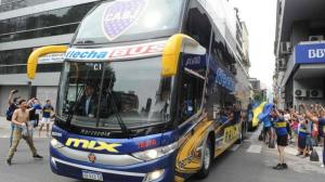Bus de Boca Juniors.