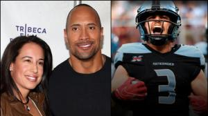 El actor Dwayne Johnson, conocido como 'The Rock', y su exesposa, la empresaria Dany Garcia.