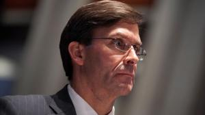 El secretario de Defensa de EE.UU., Mark Esper.