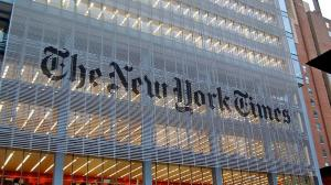 Edificio de The New York Times.