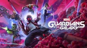 """Videojuego """"Marvel's Guardians of the Galaxy""""."""