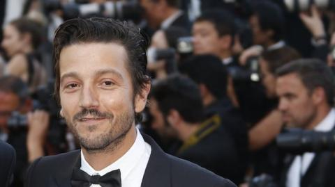El actor mexicano Diego Luna.