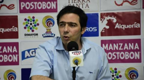 Antonio Char, presidente de Junior.