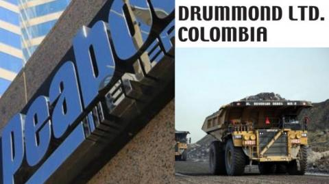 Peabody Energy busca comprar Drummond Colombia.