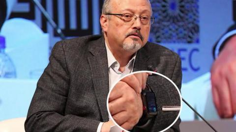 El Apple Watch de Jamal Khashoggi