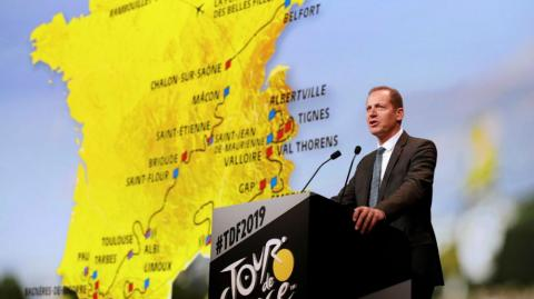 - El director general del Tour de Francia, Christian Prudhomme.